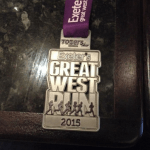 The Great West Run Medal